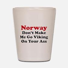 Norway Viking Shot Glass