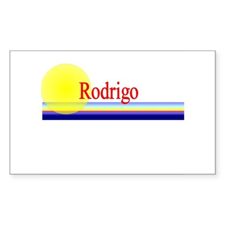 Rodrigo Rectangle Sticker