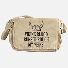 Viking Blood Runs Through My Veins! Messenger Bag