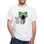 Snake My Seat White T-Shirt
