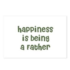 Happiness is being a Father Postcards (Package of