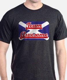 Team Awesome Charcoal T-Shirt
