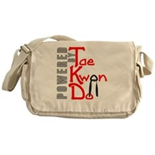 Powered by Tae Kwon Do Messenger Bag