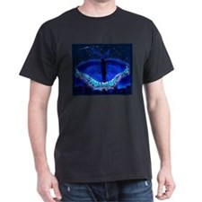 Butterfly Night with Border T-Shirt