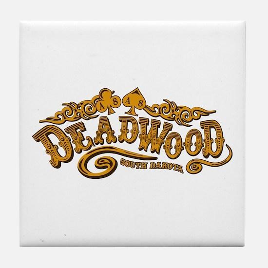 Deadwood Saloon Tile Coaster