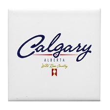 Calgary Script Tile Coaster