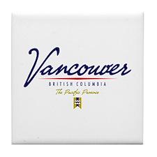 Vancouver Script Tile Coaster