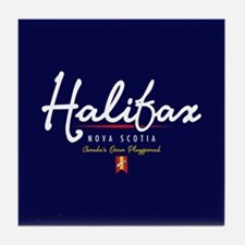 Halifax Script Tile Coaster