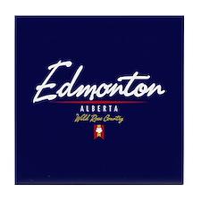 Edmonton Script Tile Coaster