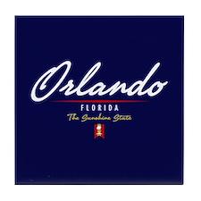 Orlando Script Tile Coaster