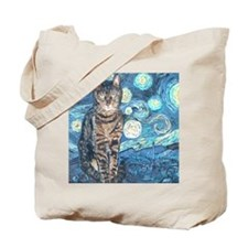 """""""Starry Night Life"""" Tote Bag"""