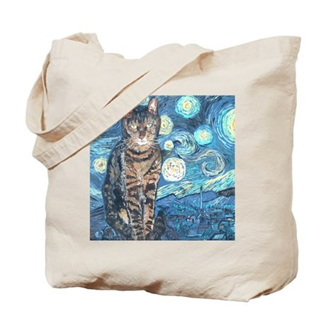 """Starry Night Life"" Tote Bag"