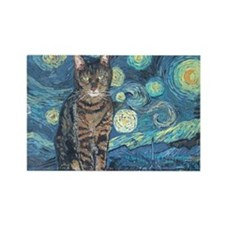 """""""Starry Night Life"""" Rectangle Magnet"""