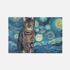 """Starry Night Life"" Rectangle Magnet"