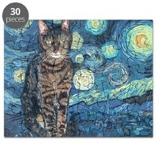 """""""Starry Night Life"""" Puzzle"""