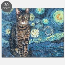 """Starry Night Life"" Puzzle"