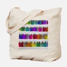 Soap Bottle Rainbow Tote Bag