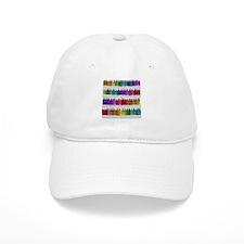Soap Bottle Rainbow Baseball Cap