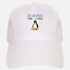 Use Linux Baseball Baseball Cap