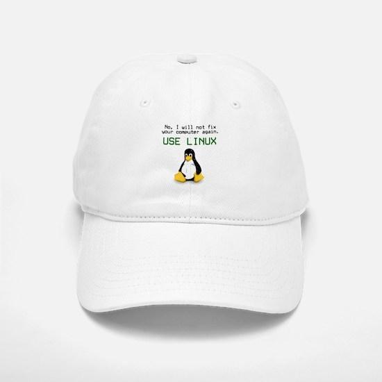 Use Linux Baseball Baseball Cap
