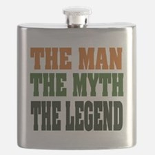 The Man The Myth The Legend Flask