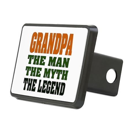Grandpa The Legend Rectangular Hitch Cover