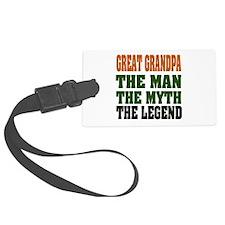 Great Grandpa The Legend Luggage Tag
