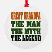 Great Grandpa The Legend Ornament