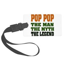 Pop Pop the Legend Luggage Tag