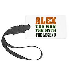 Alex The Legend Luggage Tag