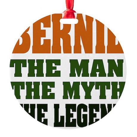 Bernie The Legend Round Ornament