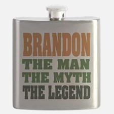Brandon The Legend Flask
