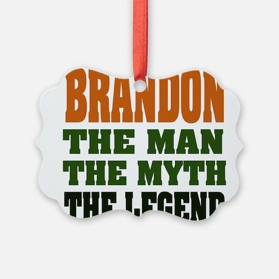 Brandon The Legend Ornament