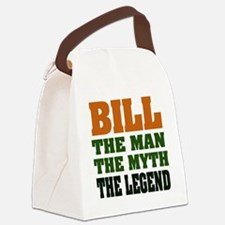 Bill The Legend Canvas Lunch Bag
