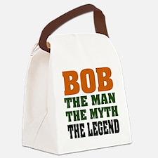 Bob The Legend Canvas Lunch Bag