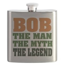 Bob The Legend Flask