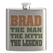 Brad The Legend Flask