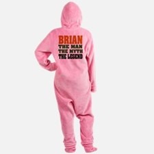 Brian The Legend Footed Pajamas