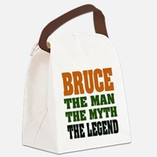 Bruce The Legend Canvas Lunch Bag