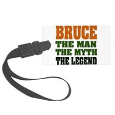 Bruce The Legend Luggage Tag