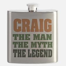 Craig The Legend Flask