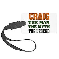 Craig The Legend Luggage Tag