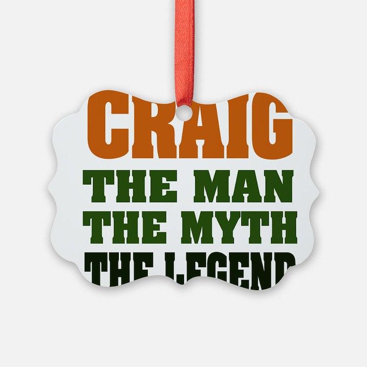 Craig The Legend Ornament
