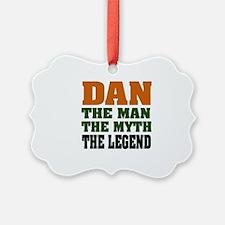 Dan The Legend Ornament