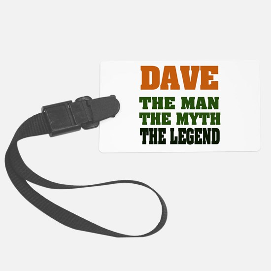 Dave The Legend Luggage Tag