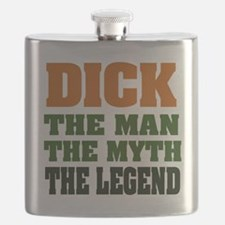 Dick The Legend Flask