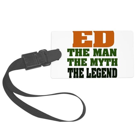 Ed The Legend Large Luggage Tag
