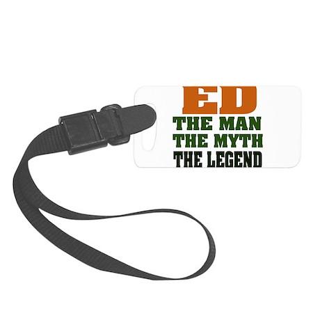 Ed The Legend Small Luggage Tag