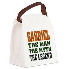 Gabriel The Legend Canvas Lunch Bag
