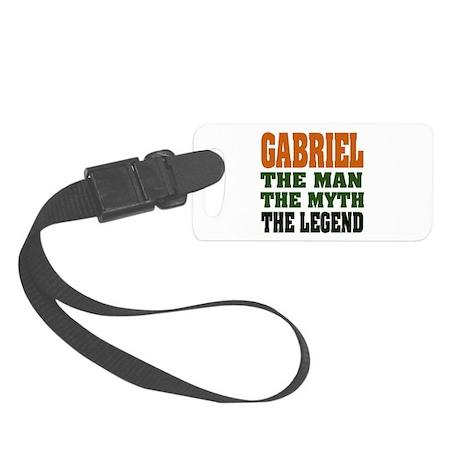 Gabriel The Legend Small Luggage Tag